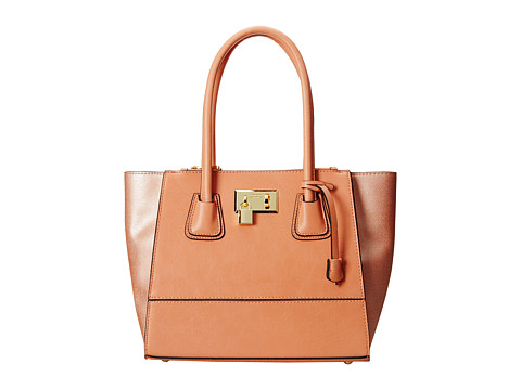London Fog - Hudson Satchel (Melon) Satchel Handbags