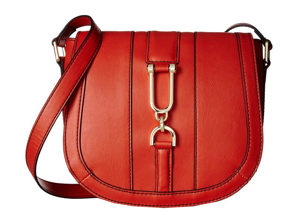 London Fog - Dora Crossbody Flap (Tigerlily) Cross Body Handbags