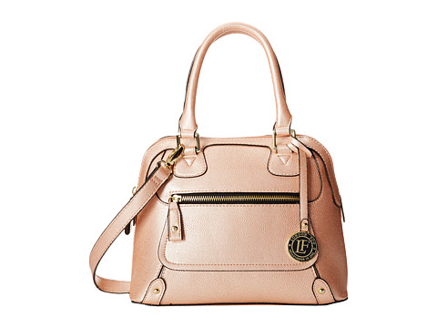London Fog - Knightsbridge Mini Dome (Peach) Satchel Handbags