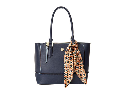 London Fog - Rita Tote (Navy) Tote Handbags