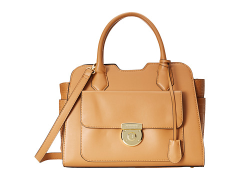 London Fog - Stewart Satchel (Camel) Satchel Handbags