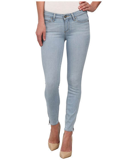 Paige - Verdugo Crop Zip in Cruz (Cruz) Women's Jeans
