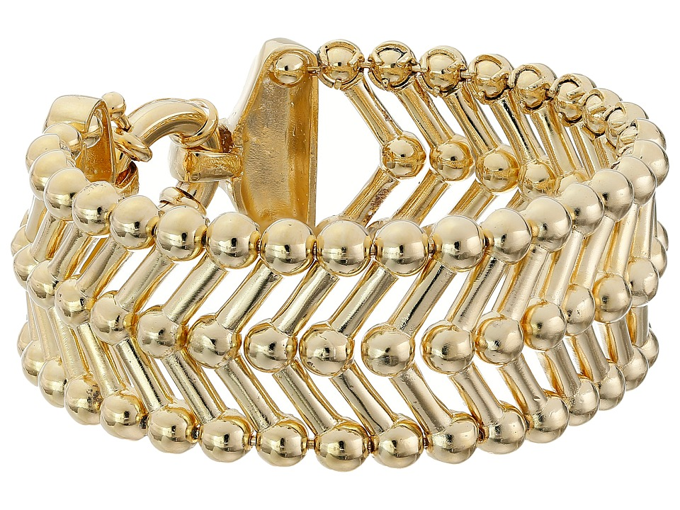 Giles & Brother - Thin Apache Bracelet (Gold Finished Brass) Bracelet