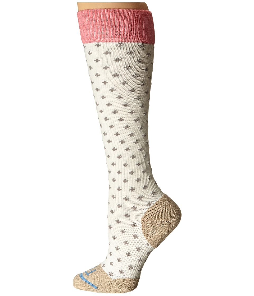 Fits - Casual Knee High (Natural/Tan) Women's Knee High Socks Shoes