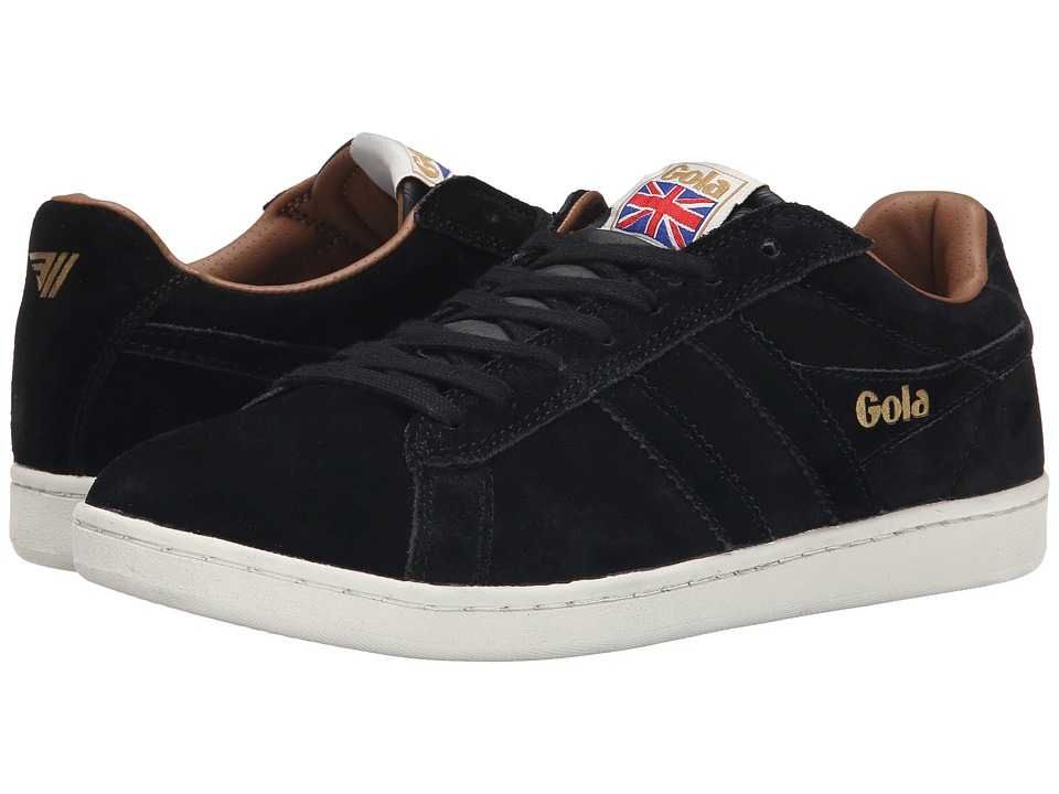 Gola - Equipe Suede (Black) Men's Shoes