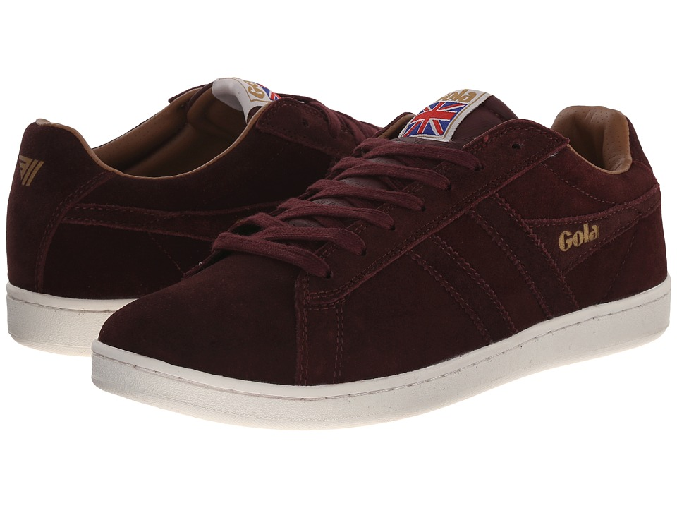 Gola - Equipe Suede (Burgundy) Men's Shoes