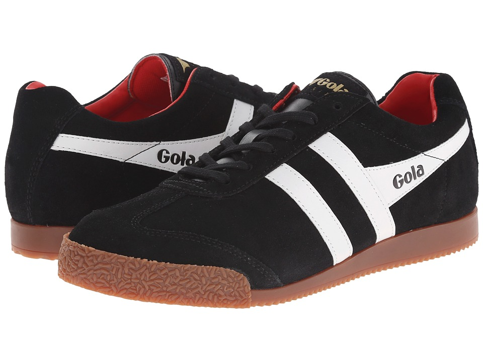 Gola - Harrier (Black/White/Red) Men's Shoes