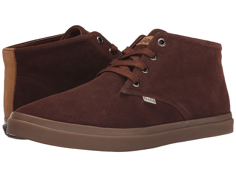 Gola - Seeker Suede High (Chestnut) Men's Shoes