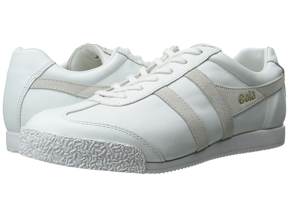 Gola - Harrier Mono (White) Men's Shoes
