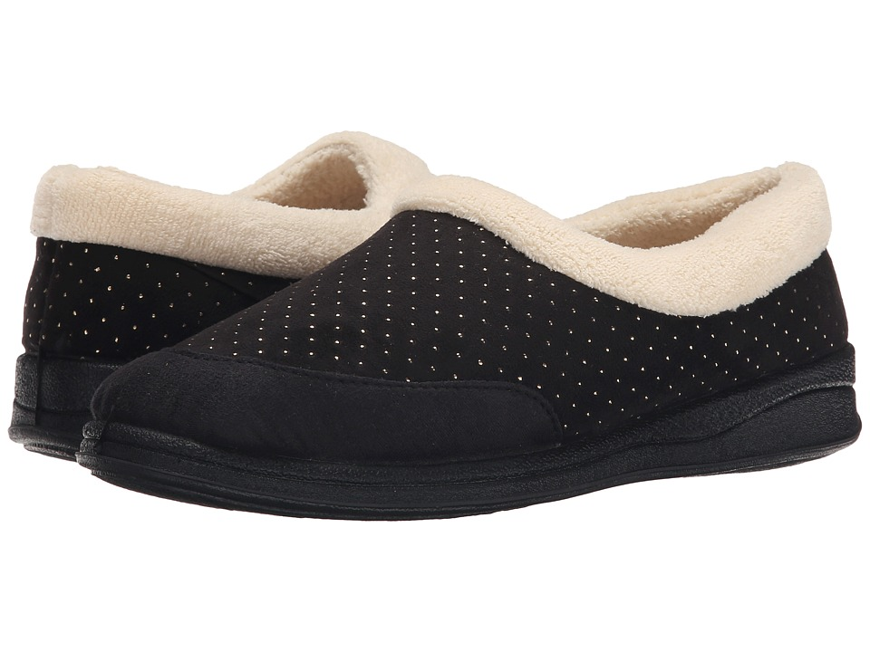 Foamtreads - Keira (Black) Women's Slippers