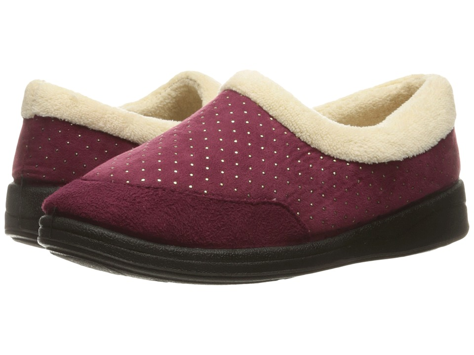 Foamtreads - Keira (Burgundy) Women's Slippers