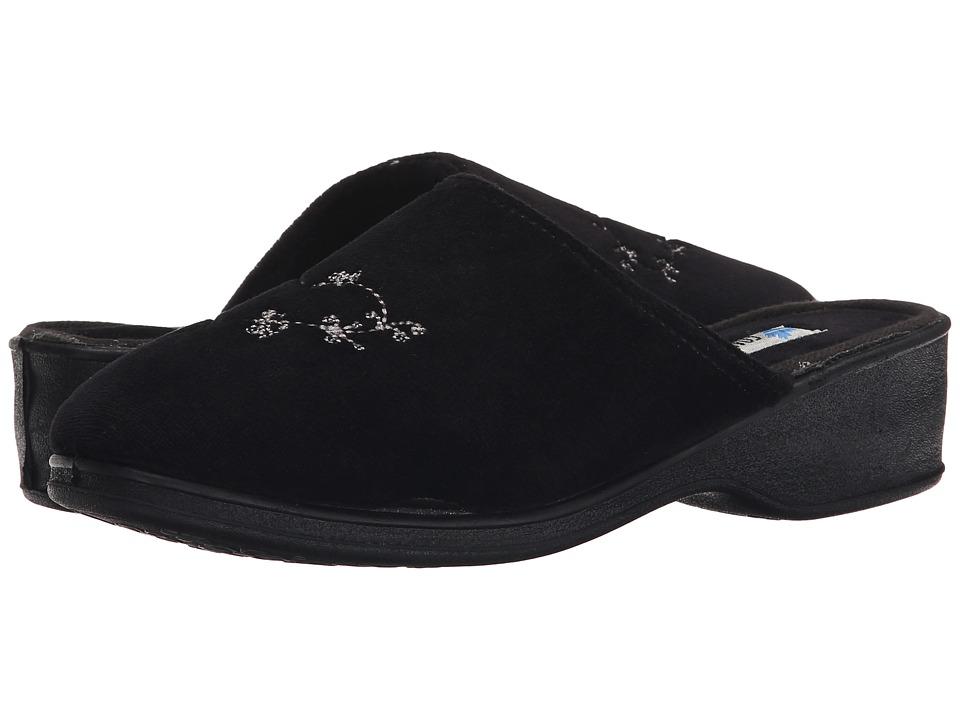 Foamtreads - Sara Ft (Black) Women's Slippers