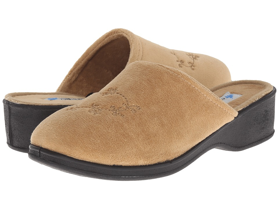 Foamtreads - Sara Ft (Champagne) Women's Slippers