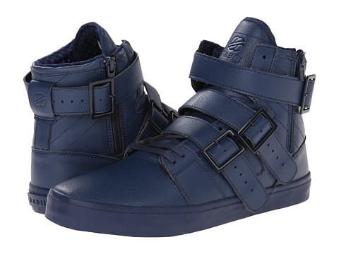 radii Footwear - Straight Jacket VLC (Triple Navy Waxed Pebble Leather) Men