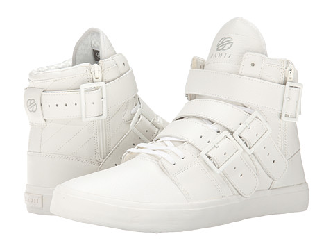 radii Footwear - Straight Jacket VLC (Triple White Waxed Pebble Leather) Men