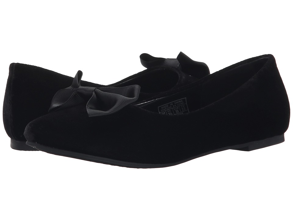 Polo Ralph Lauren Kids - Nala (Big Kid) (Black Velvet) Girl's Shoes