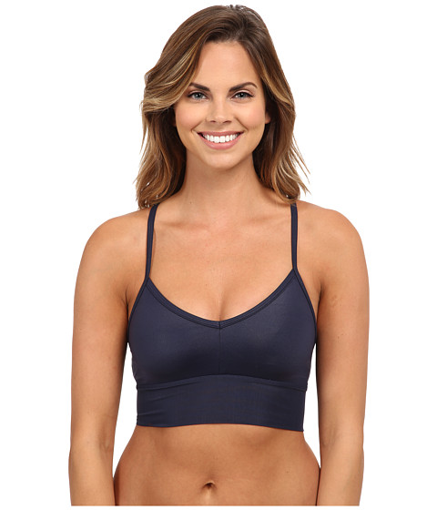 ALO - Aria Bra (Rich Navy Glossy/Rich Navy) Women