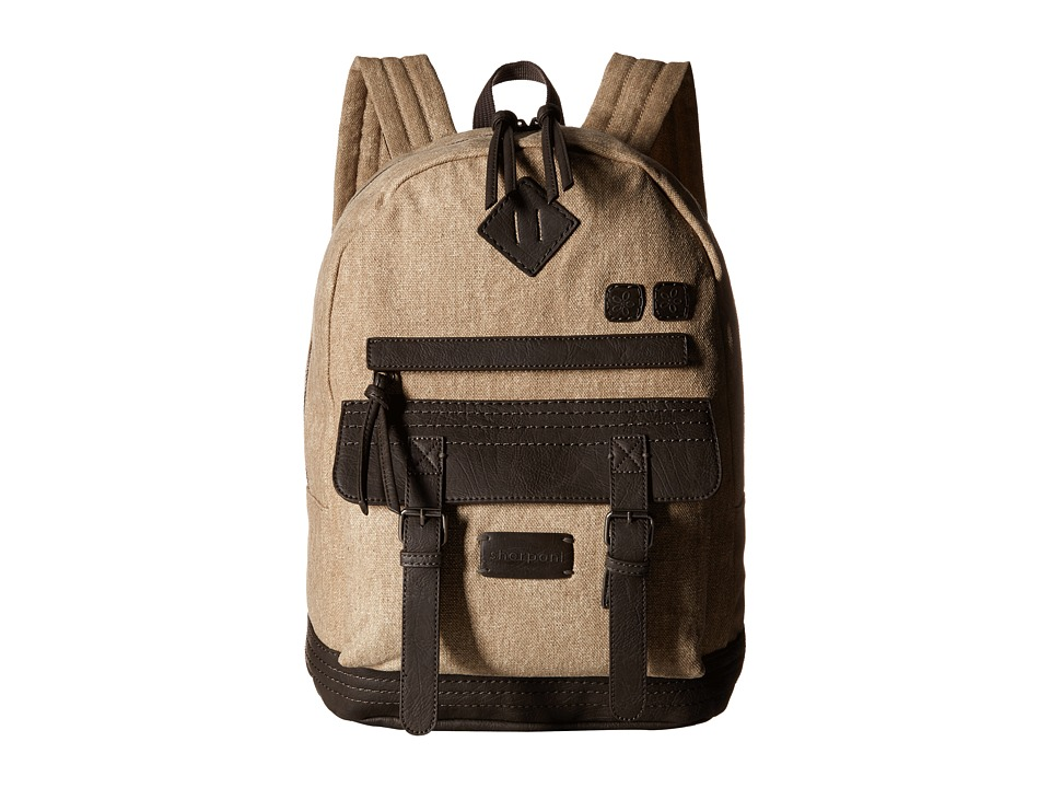 Sherpani - Indie Backpack (French Roast/Canvas) Backpack Bags