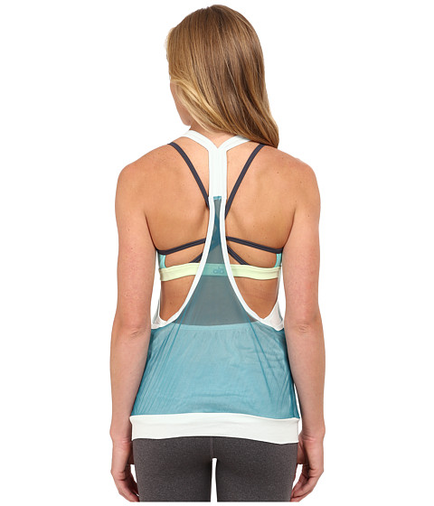 ALO - Iris Tank Top (Mint/Deep Teal) Women's Sleeveless