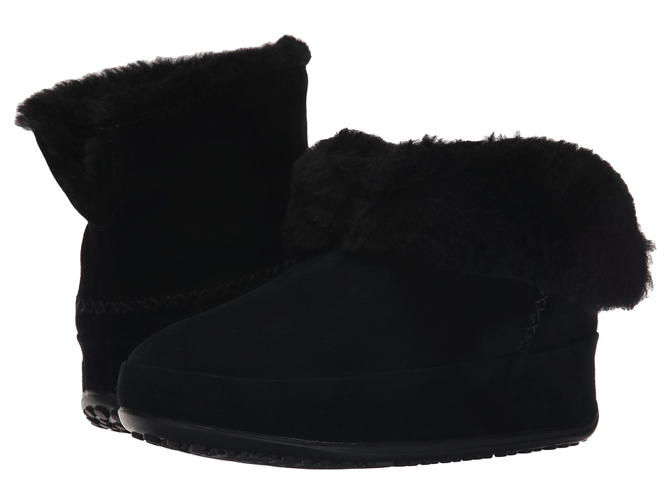 FitFlop - Mukluk Shorty (All Black) Women's Slippers