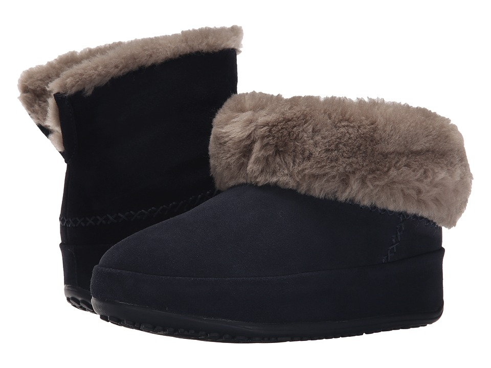 FitFlop - Mukluk Shorty (Super Navy) Women's Slippers