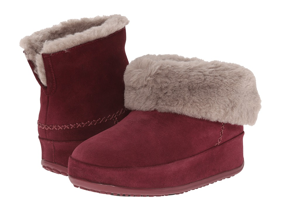 FitFlop - Mukluk Shorty (Hot Cherry) Women's Slippers