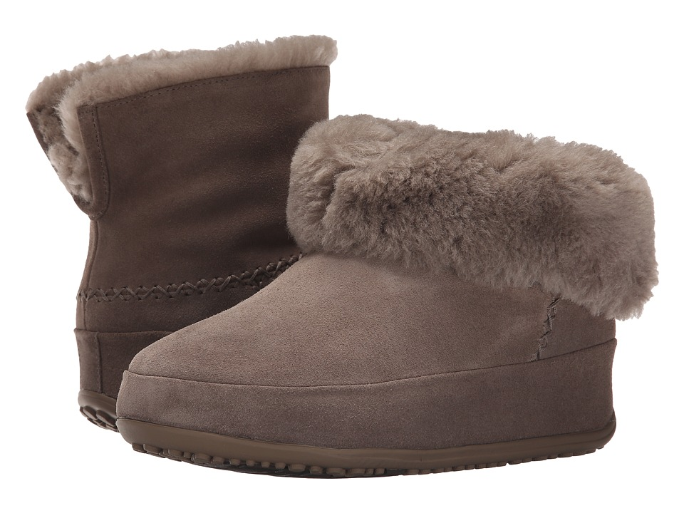 FitFlop - Mukluk Shorty (Timberwolf) Women's Slippers