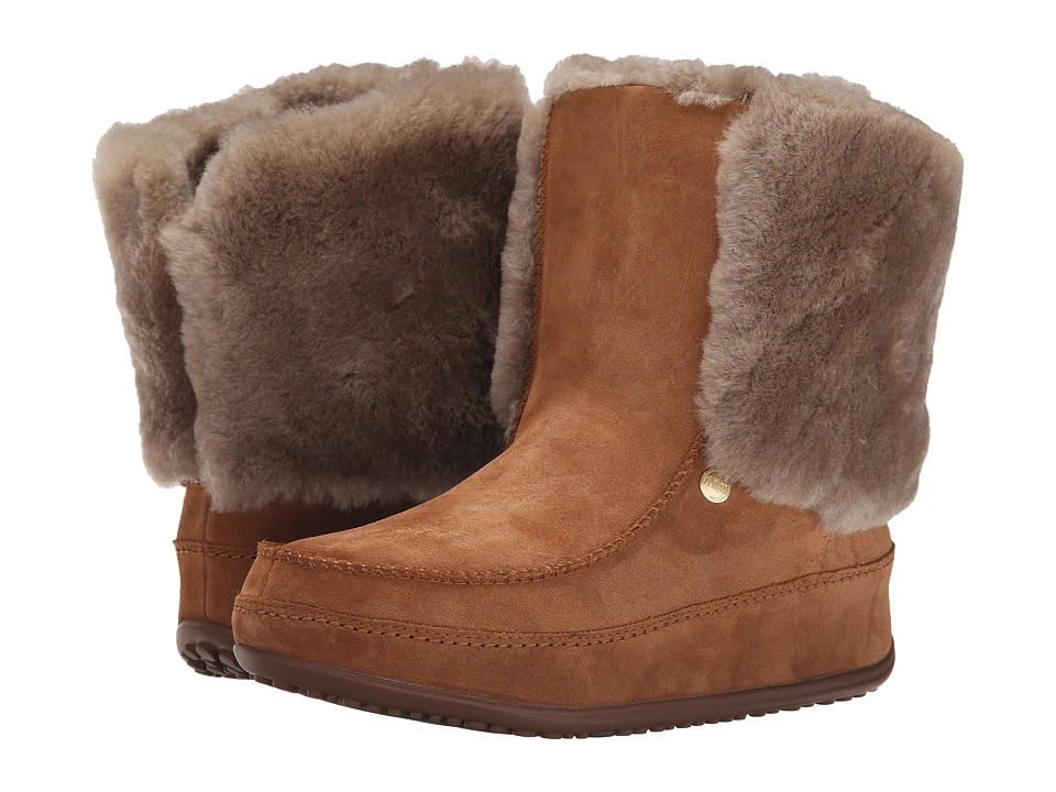 cdf1aa235792ac ... UPC 883945847806 product image for FitFlop - SuperCuff Mukluk (Chestnut)  Women s Shoes