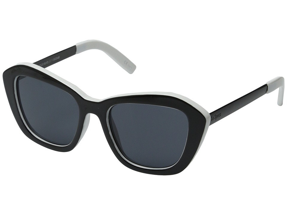 Le Specs - Hollywood Boulevard (Black White) Fashion Sunglasses