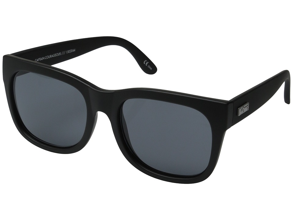 Le Specs - Captain Courageous (Black Rubber) Fashion Sunglasses