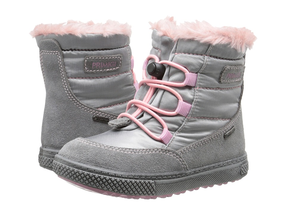 Primigi Kids - Arrow (Toddler) (Grey) Girls Shoes