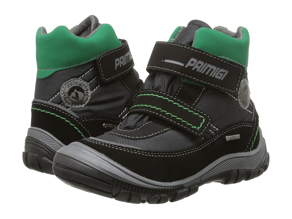 Primigi Kids - Skanor (Toddler/Little Kid) (Black) Boys Shoes