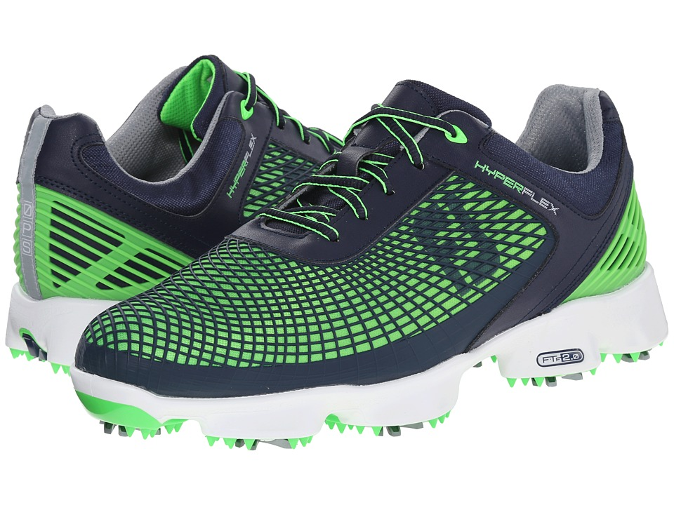 FootJoy - Hyperflex (Navy/Neon) Men's Golf Shoes