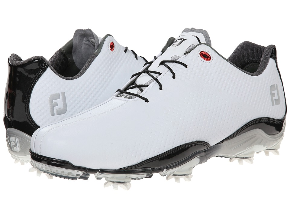 FootJoy - DNA Split Toe (White/Black) Men's Golf Shoes