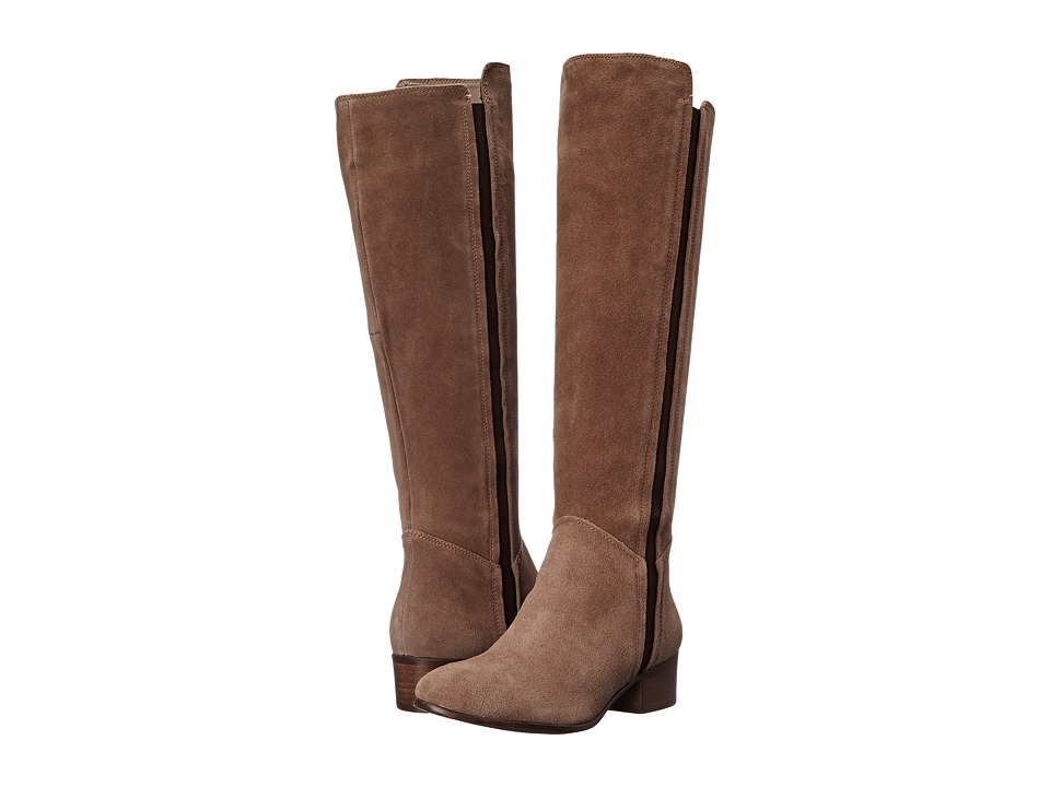 Steve Madden Pullon Taupe Suede Pull-on Boots