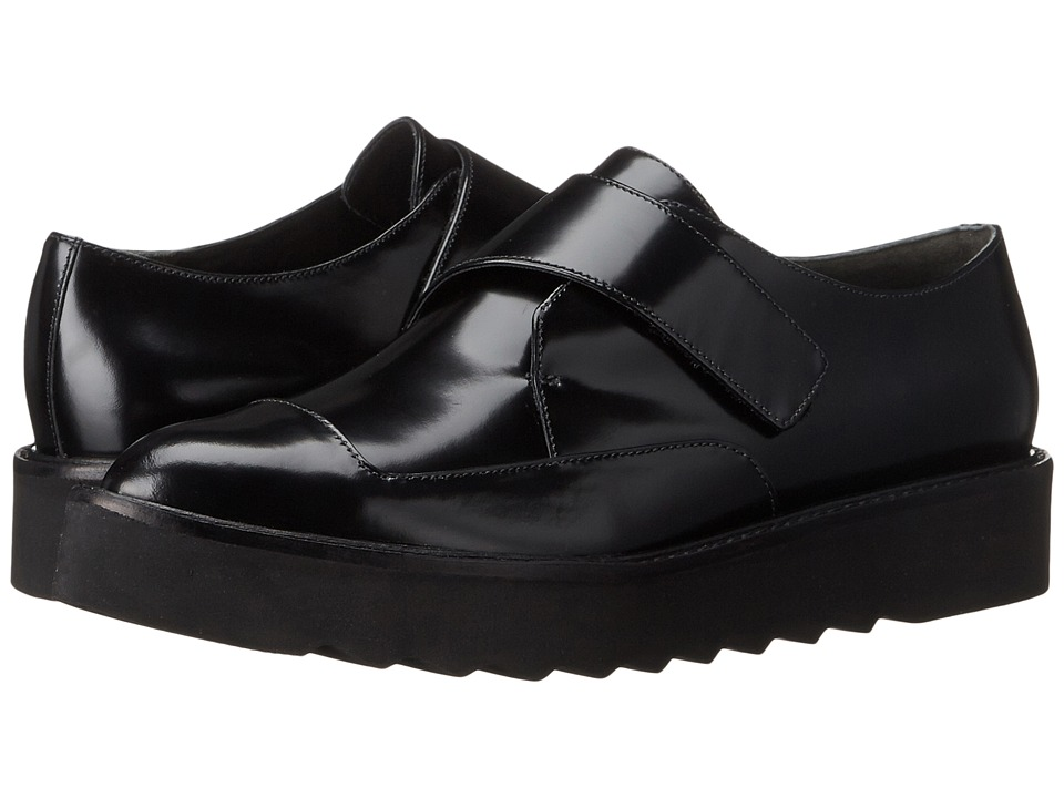 Vince - Arden (Black Carli Abrasivato) Women's Slip on Shoes