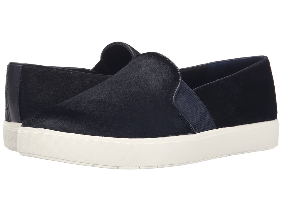 Vince - Blair-12 (Blue Marine Pony Lux) Women's Slip on Shoes