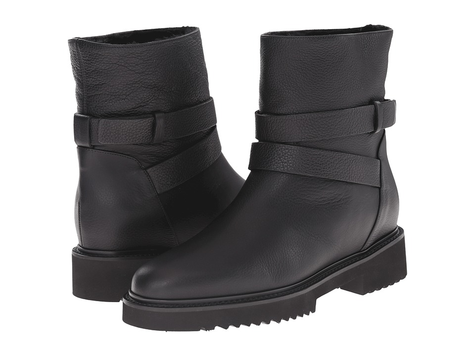 Vince - Cagney (Black Boston Calf) Women's Pull-on Boots