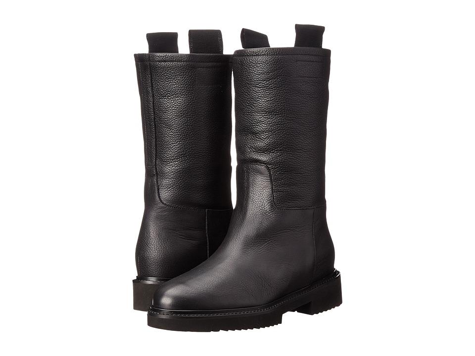 Vince - Chenay (Black Boston Calf) Women's Pull-on Boots