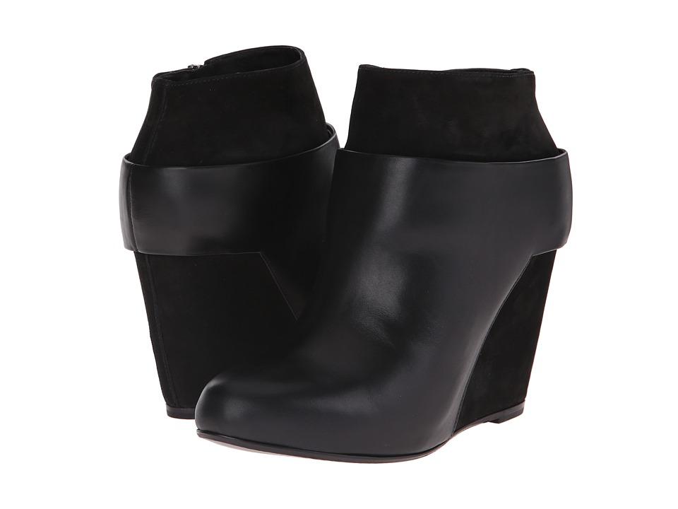 Vince - Garren (Black Polaris Linch/Burnish Nubuck) Women's Pull-on Boots