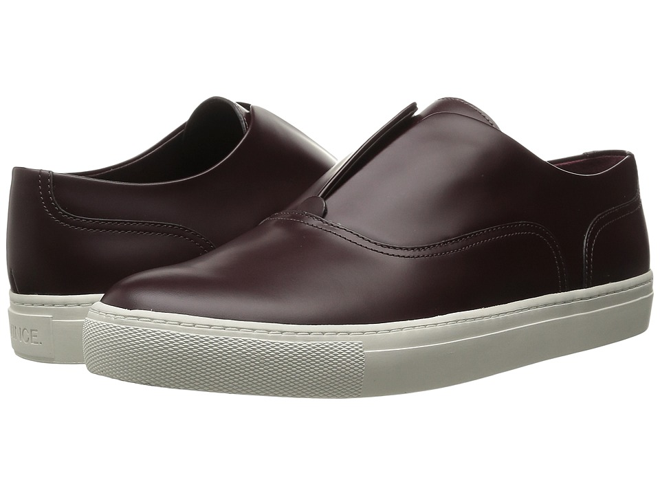 Vince - Nelson (Fig Low Shine Abrasivato) Women's Slip on Shoes