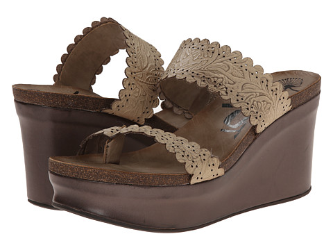 OTBT - Beach Park (Stone) Women's Wedge Shoes
