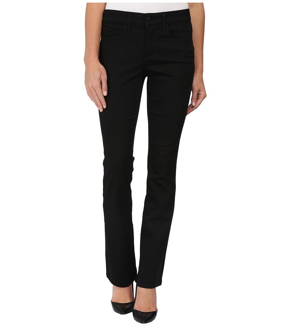 NYDJ - Billie Mini Bootcut (Black) Women's Casual Pants