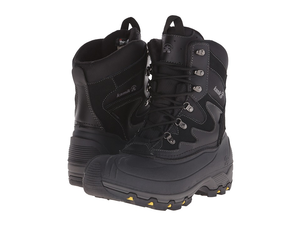 Kamik - Blackjack 2015 (Black) Men's Work Boots
