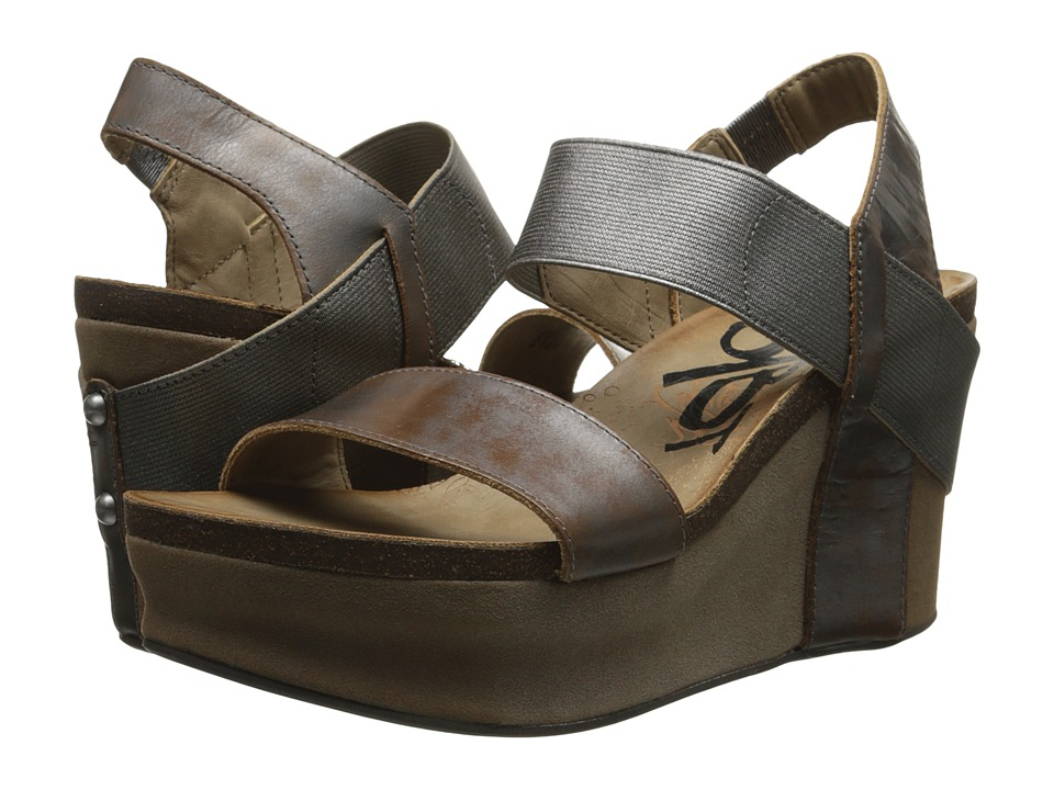 Upc 753332608184 Product Image For Otbt Bushnell Pewter Women S Wedge Shoes Upcitemdb