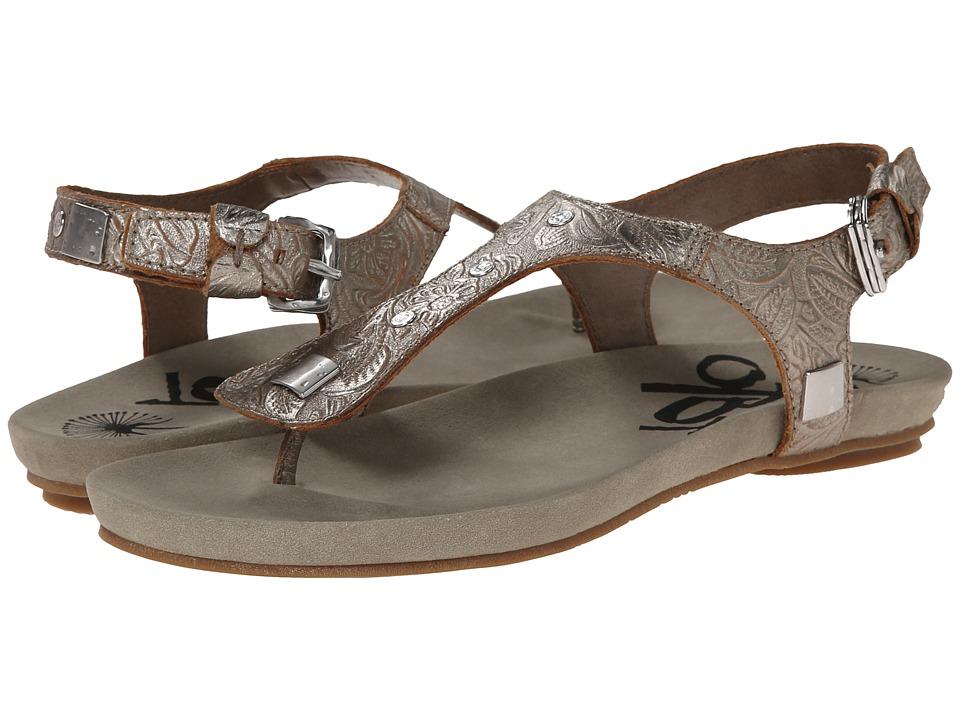 OTBT - Cass (Light Pewter) Women's Sandals