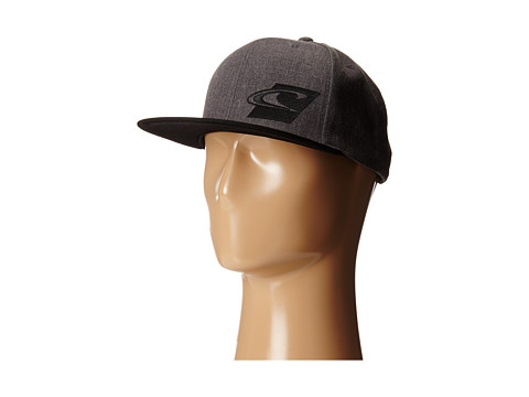 O'Neill - Team Adjustable Hat (Charcoal) Baseball Caps