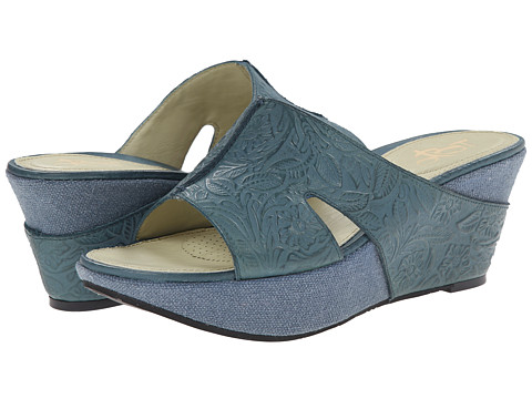 OTBT - Hannibal (Dany Blue) Women's Wedge Shoes