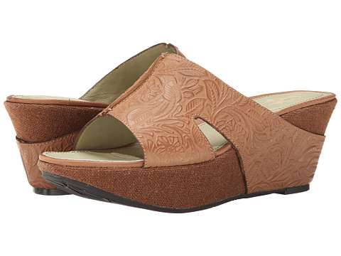 OTBT - Hannibal (Tawny Brown) Women's Wedge Shoes