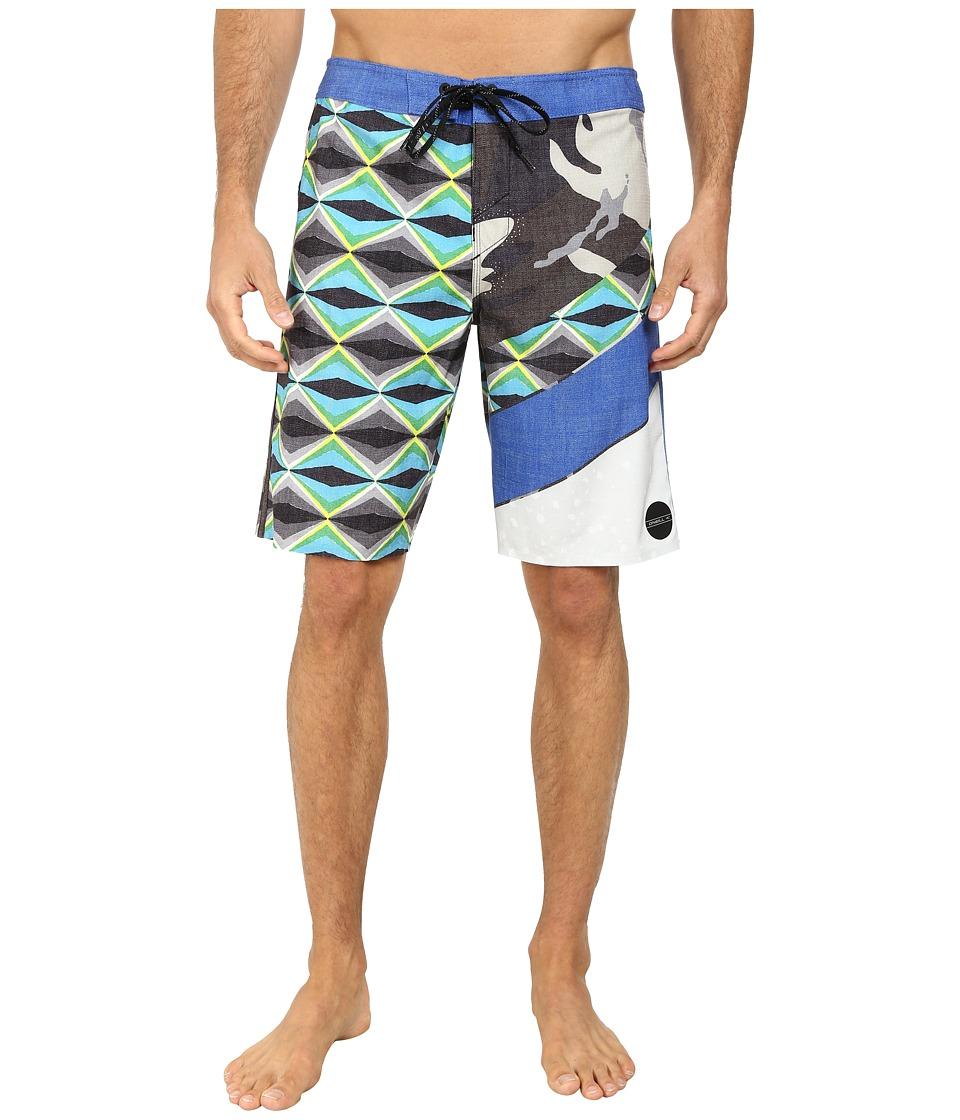 O'Neill - Jordy Freakout Boardshorts (Blue) Men's Swimwear